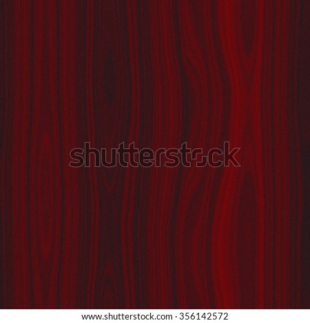 Illustration of dark red wood seamless texture or background - stock photo