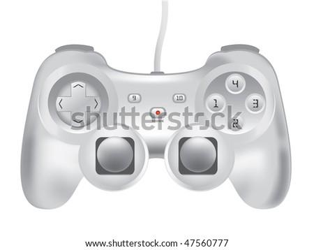 illustration of Game-pad - stock photo
