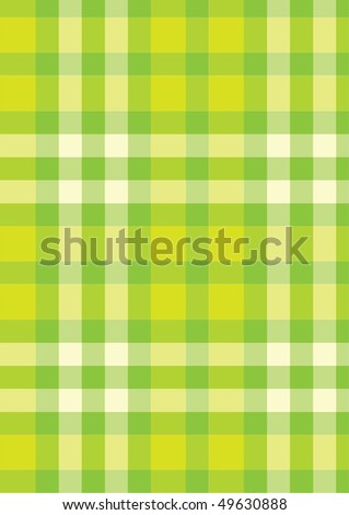 illustration of green checked background