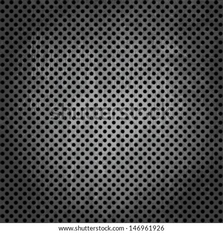 Illustration of metallic texture background