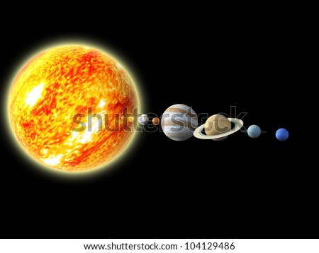 gallery solar system in order - photo #42