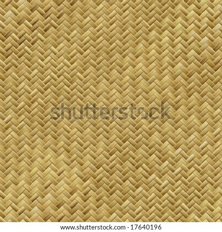 illustration of rattan weave that can be seamlessly tiled - stock photo