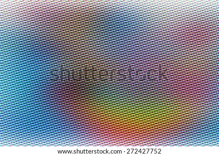 illustration of soft colored abstract background with blurred various color lines, technology concept - stock photo