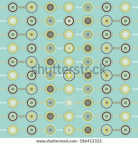 Illustration of various circles background pattern./Circle Pattern - stock photo
