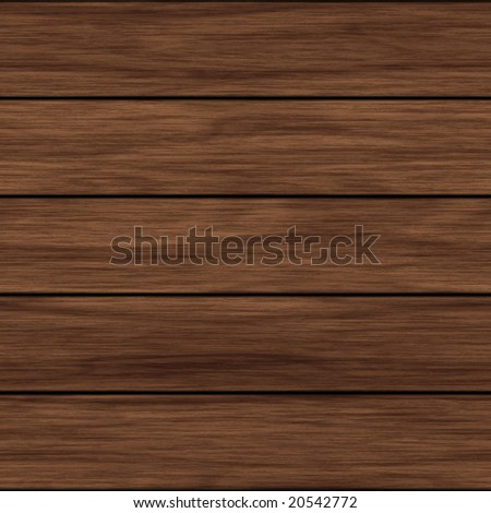 illustration of wood surface with horizontal grain lines - stock photo