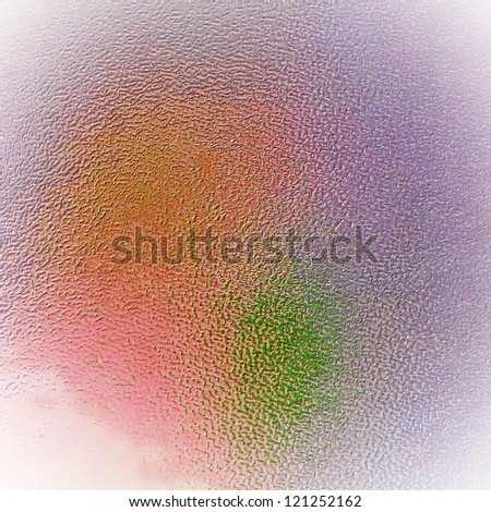 illustration soft glass for texture or background. frosted glass - stock photo
