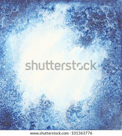 image from painted watercolor paper background texture series - stock photo