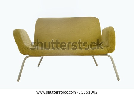 Image of a chair on white - stock photo
