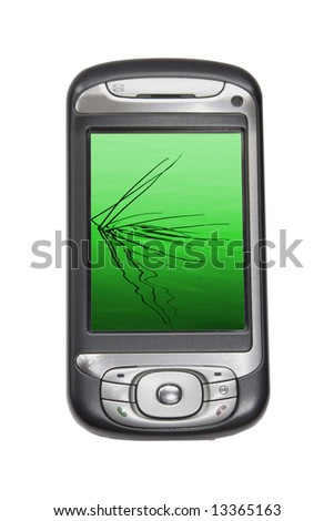 image of a pda technology device