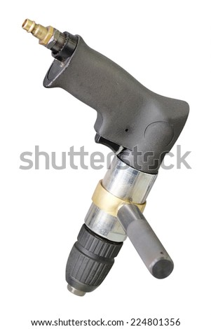 image of a pneumatic wrench - stock photo