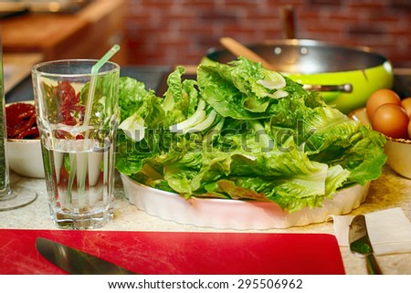 image of a salad - stock photo