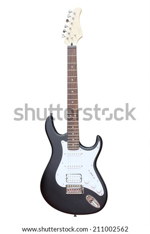 Image of an electric guitar