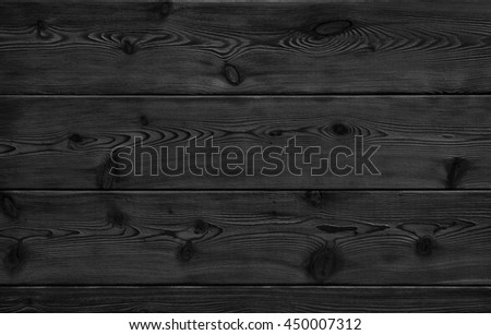 Image of black bumpy wooden table top background - stock photo