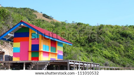 Colorful House colorful house stock images, royalty-free images & vectors