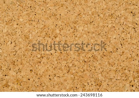 Image of brown cork texture background - stock photo
