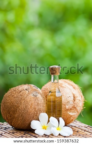 Image of Coconut and coconut oil
