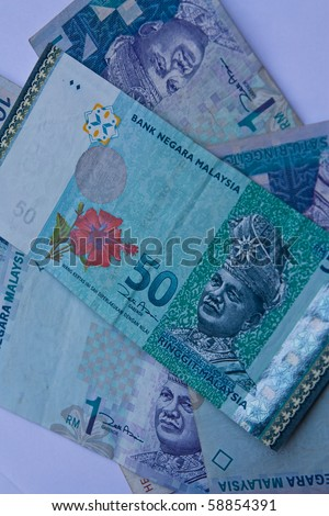 Image of Malaysian Currency - stock photo
