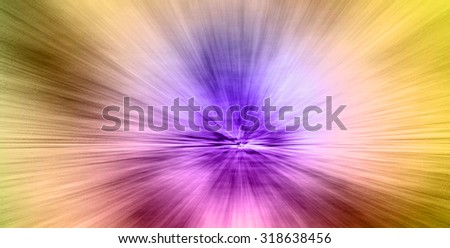 Image of Motion fast in colorful tunnel ,abstract speed toward the light.Abstract Blur Car Traffic Tunnel Background. vortex with a bright light streaks. zooming blur rotate circle pattern background