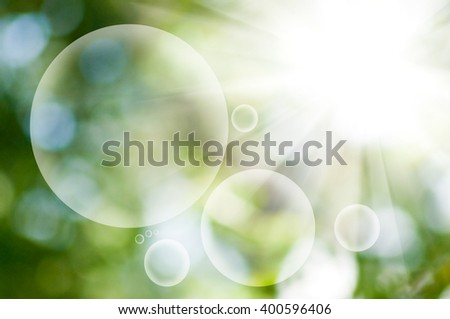 image of natural green background closeup