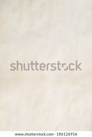 image of old paper for background - stock photo