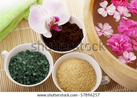 Image of spa therapy - stock photo