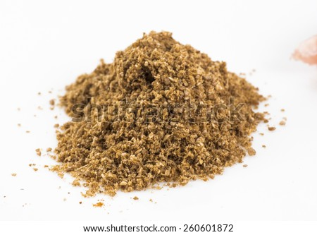 Image of spices isolated close up. - stock photo