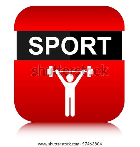 image of  sport button