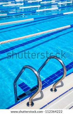Image of swimming pool ... - stock photo