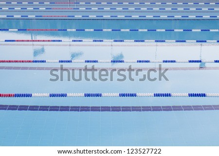 Image of swimming pool - stock photo