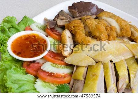 Image of  Thai delicious food - stock photo