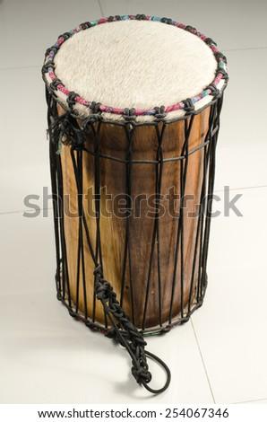 Image of Thai's ancient drum - stock photo