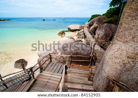 Image of the sea as they  move towards  the shore. - stock photo