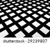 Image. Tile pattern black 14 - stock photo