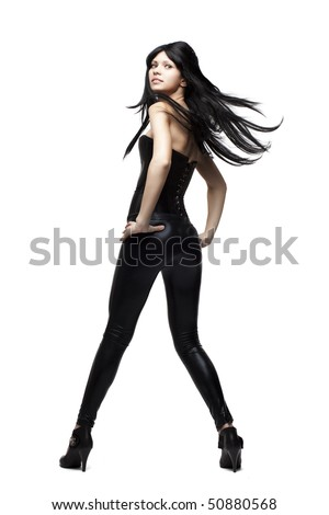 Leather Pants Stock Images, Royalty-Free Images & Vectors ...