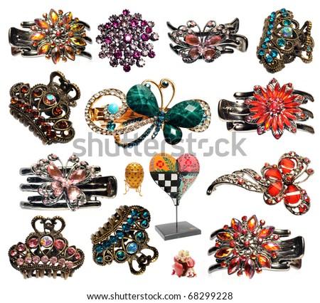 imitation jewelry - stock photo