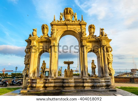 fountain saverne alsase france stock photo 114789373 shutterstock. Black Bedroom Furniture Sets. Home Design Ideas