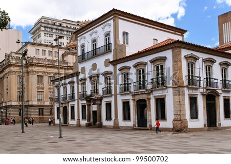Imperial Palace in Rio de Janeiro - stock photo