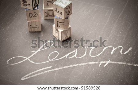 Importance of Education Conceptual Image - stock photo