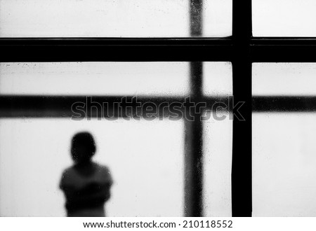 imprison the soul - stock photo