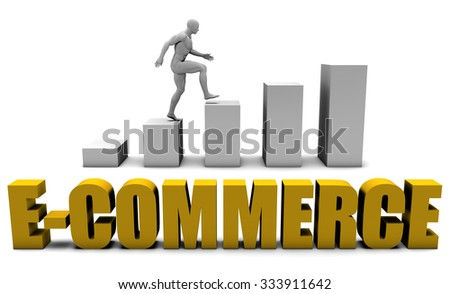 Improve Your E-commerce  or Business Process as Concept - stock photo