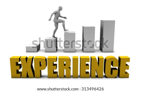Improve Your Experience  or Business Process as Concept - stock photo