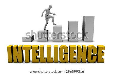Improve Your Intelligence  or Business Process as Concept - stock photo