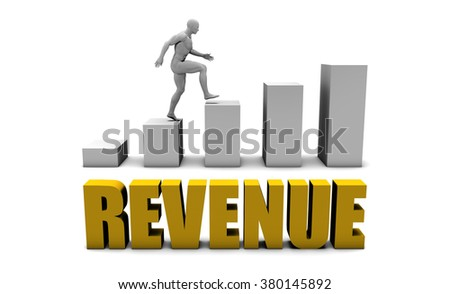 Improve Your Revenue  or Business Process as Concept - stock photo