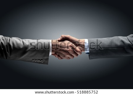 in a sign of partnership and cooperation - to reach each other's