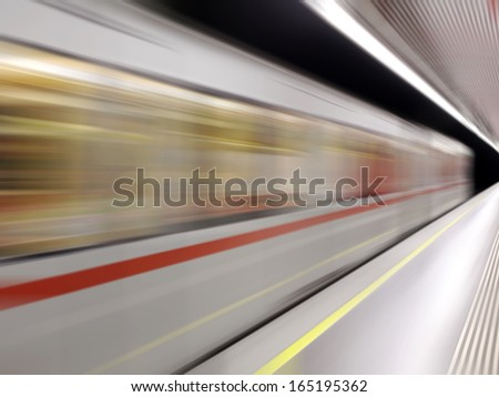 In Motion - stock photo