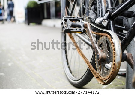 In need of maintenance, high expectation without investment - concept. - stock photo