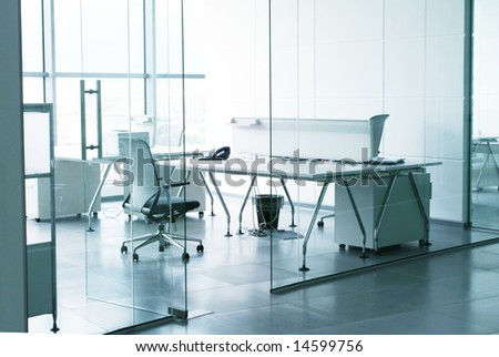 in office - stock photo