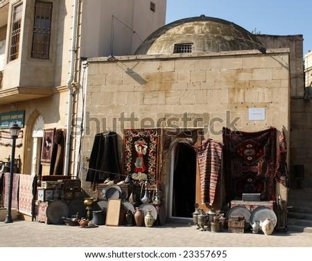 In old town. Baku, Azerbaijan. - stock photo