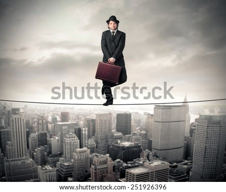 In the balance  - stock photo