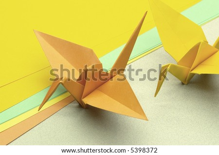 In the Japan, Tsuru origami represents luck, peace, happiness and longevity.